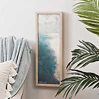 Vertical Coast Framed Art Print