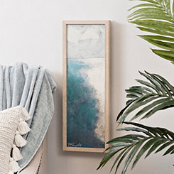 Vertical Coast Framed Art Print