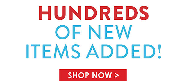 Hundreds of new items added! - Shop Now