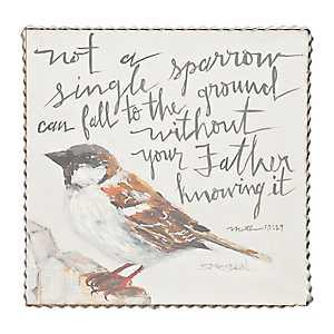 Not A Single Sparrow Framed Art Print