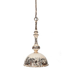 Stuart Distressed Metal Pendant