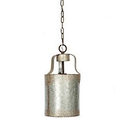 Shea Galvanized Metal Pendant