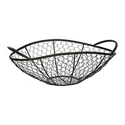 Black Chicken Wire Bowl