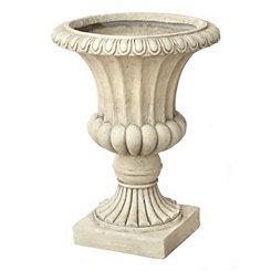 Ivory Fluted Urn Planter