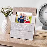 Definition of a Grandpa Picture Frame, 4x6