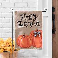 Happy Fall Y'all Pumpkin Flag Set