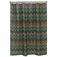 Sierra Zig Zag Shower Curtain