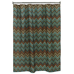 Sierra Zig Zag Shower Curtain