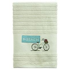 Beach Cruiser Bath Towel