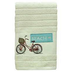 Beach Cruiser Hand Towel