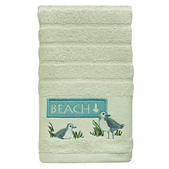 Beach Birds Hand Towel