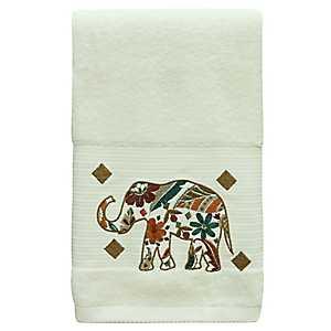 Boho Elephant Bath Towel