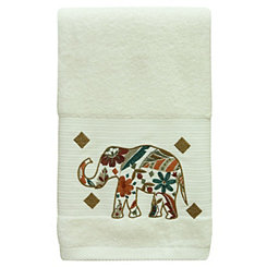 Boho Elephant Bath Towel
