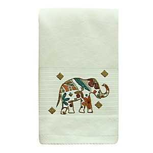Boho Elephant Hand Towel
