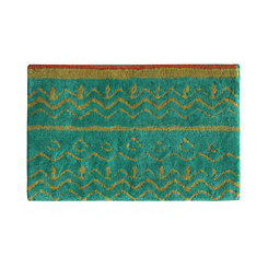 Boho Elephant Cotton Bath Mat