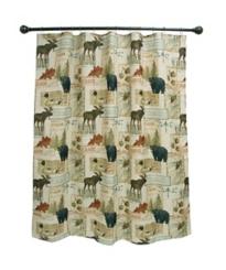 Vintage Outdoor Shower Curtain