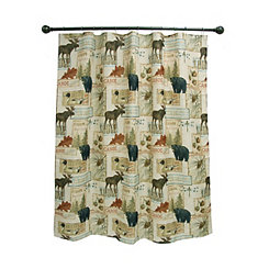 Vintage Outdoor Shower Curtain