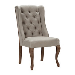 Avery Natural Linen Dining Chair