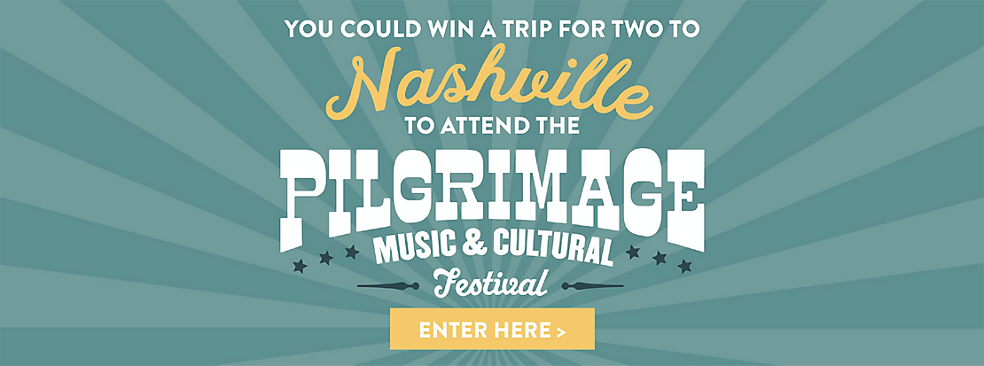 Pilgrimage Sweepstakes - Enter Now