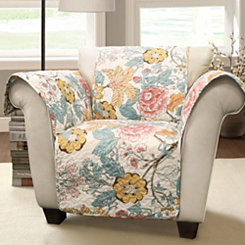 Sydney Floral Arm Chair Furniture Protector