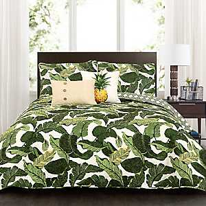 Tropical Paradise 5-pc. Full/Queen Quilt Set