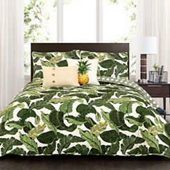 Tropical Paradise 5-pc. Full/Queen Quilt Set