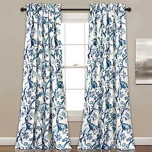 Blue Dora Curtain Panel Set, 84 in.