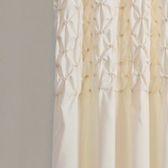 Ivory Bayside Curtain Panel Set, 84 in.