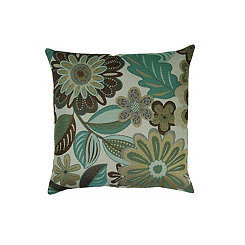 Bayberry Floral Pillow