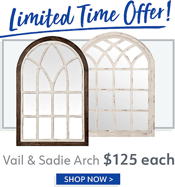 Limited Time Offer - Vail & Sadie Arch Now $125 - Shop Now
