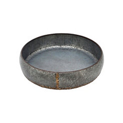 Weathered Gray Metal Tray