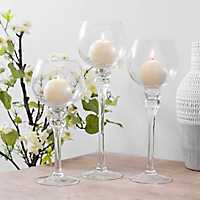 Seeded Glass Charismas, Set of 3