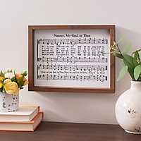 Nearer My God Sheet Music Framed Art Print