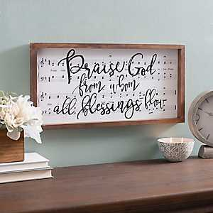Praise God Framed Art Print