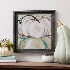 Blessed Pumpkin Framed Art Print