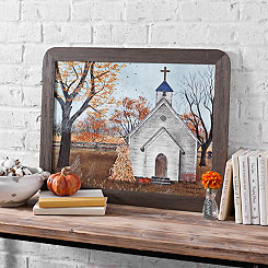 Harvest Church Framed Art Print