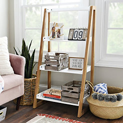 Ivory 4-Tier Leaner Shelf