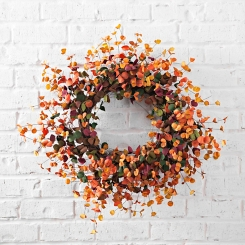 Colorful Aspen Wreath