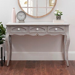 Addilyn Antique Console Table with Ceramic Knobs