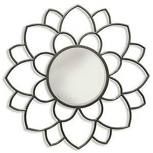 Bloomer Traditional Metal Wall Mirror