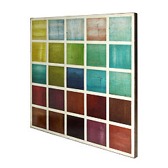Colorful Squares Canvas Art Print