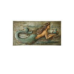 Handmade Mermaid Metal Wall Art