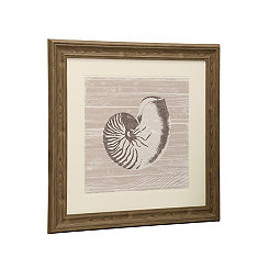 Seashell I Matted Framed Art Print