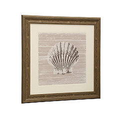 Seashell II Matted Framed Art Print