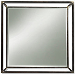 Webster Iron Finish Metal Wall Mirror