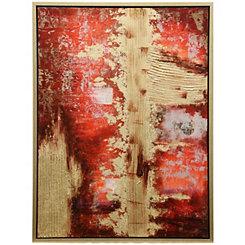 Hand Painted Berkshire Framed Canvas Art Print