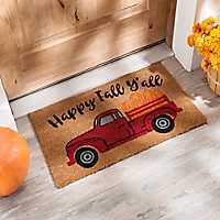 Happy Fall Y'all Truck Doormat