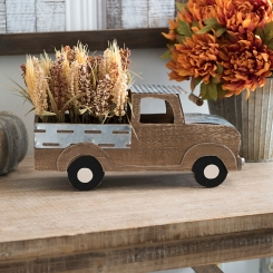 Wheat Truck Floral Arrangement