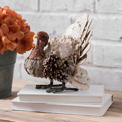 Decorative Birch Turkey