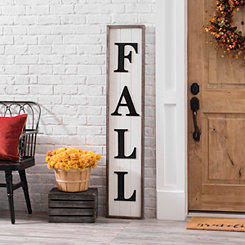 Tall Fall Plank Plaque